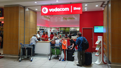 Vodacom Cape Town Airport - Cape Town Airport