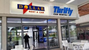 Thrifty Car Hire Cape Town International Airport