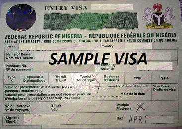 Visas required to travel to Western Africa